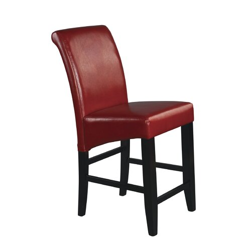 "OSP Designs Parsons 24"" Bar Stool with Cushion"