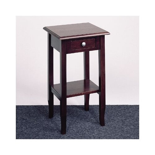 Merlot Multi-Tiered Telephone Table