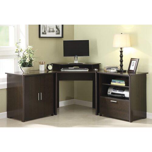 Concord Corner Computer Desk (3 piece desk)