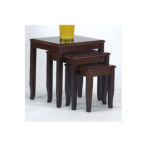 OSP Designs 3 Piece Nesting Table Set