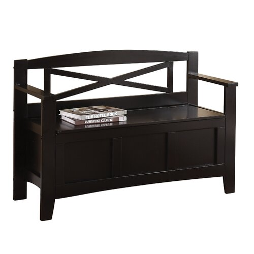 OSP Designs Metro Storage Entryway Bench & Reviews | Wayfair