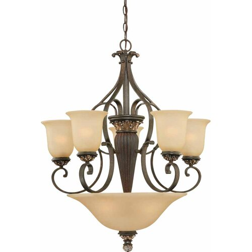 Bristol 8 Light Chandelier