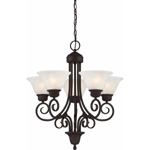 Troy 5 Light Chandelier