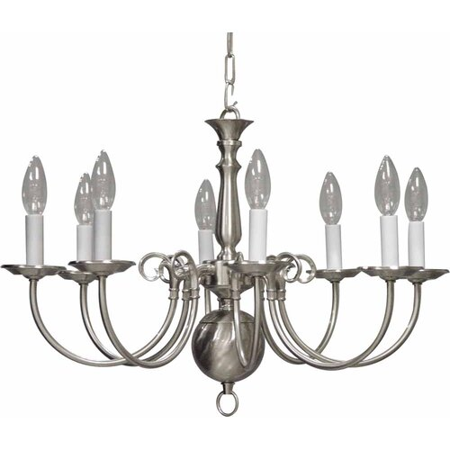 8 Light Candle Chandelier