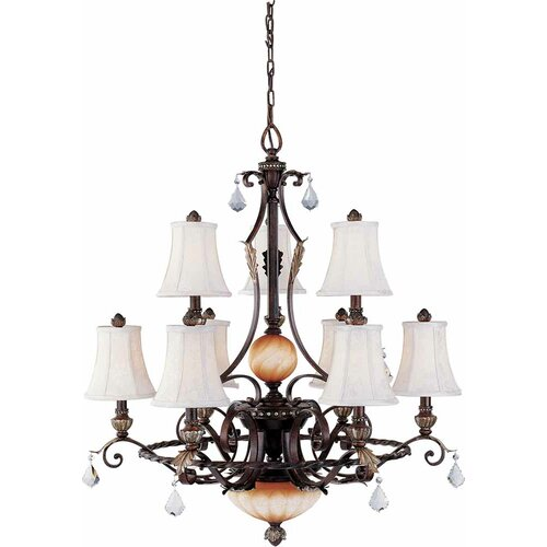 Andalusia 9 Light Chandelier
