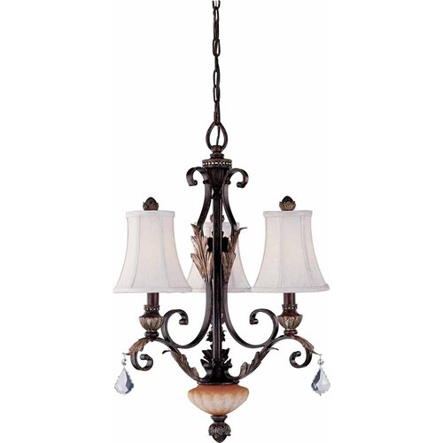 Andalusia 3 Light Chandelier