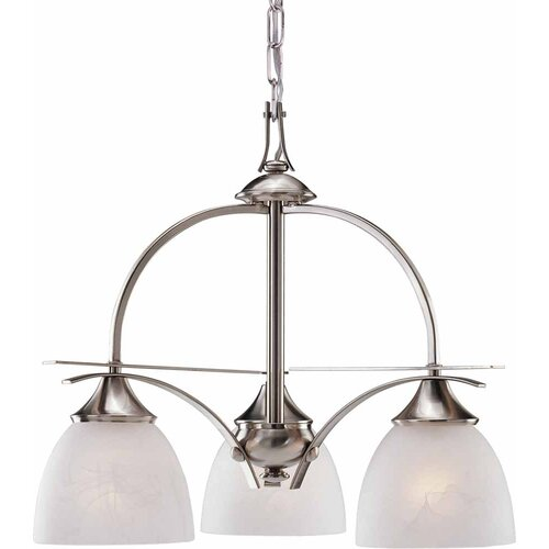 Durango 3 Light Chandelier