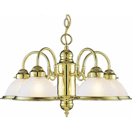 Roth 5 Light Chandelier