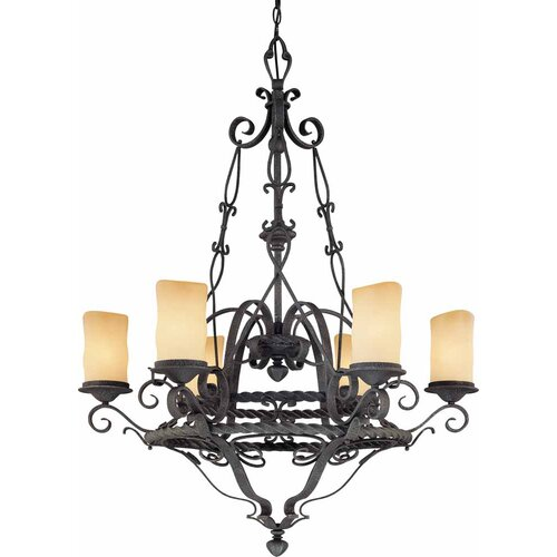 Sevila 6 Light Chandelier