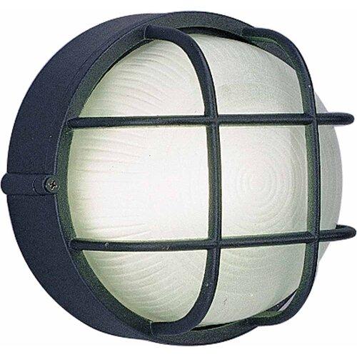 Volume Lighting 1 Light Outdoor Wall Mounted Light Fixture