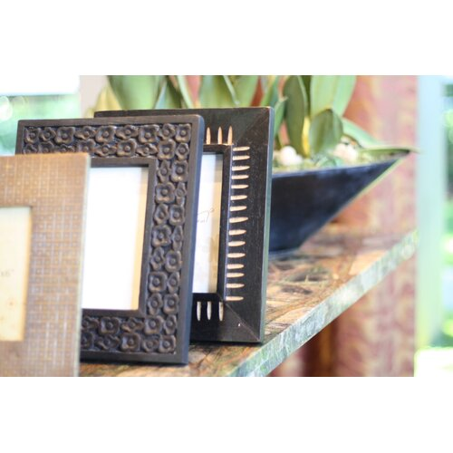 Timbergirl Acacia Wood Handcarved Picture Frame