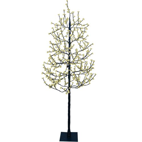 7.5' Blossom Artificial Christmas Tree with 512 Warm White LED Lights
