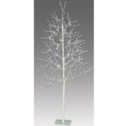 5.5' Blossom Artificial Christmas Tree with 512 Cool White LED Lights with a Trunk