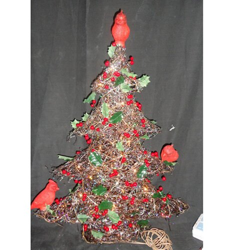 Christmas Tree with Birds Christmas Decoration
