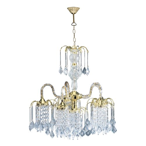ORE Furniture 1 Light Chandelier