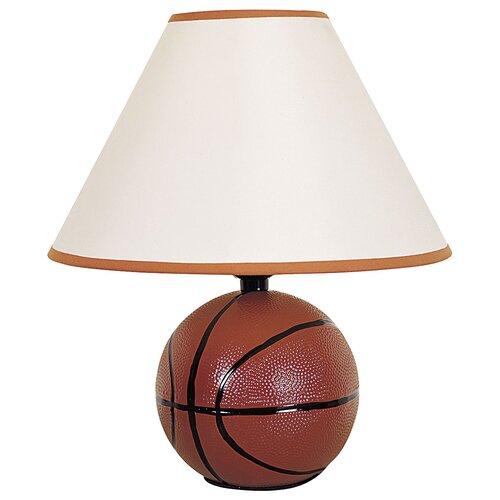 ORE Furniture Ceramic Basketball Table Lamp