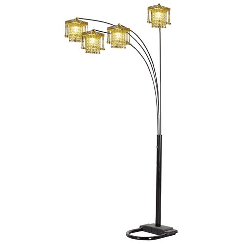 ORE Furniture Four-Arm Arch Floor Lamp with Base