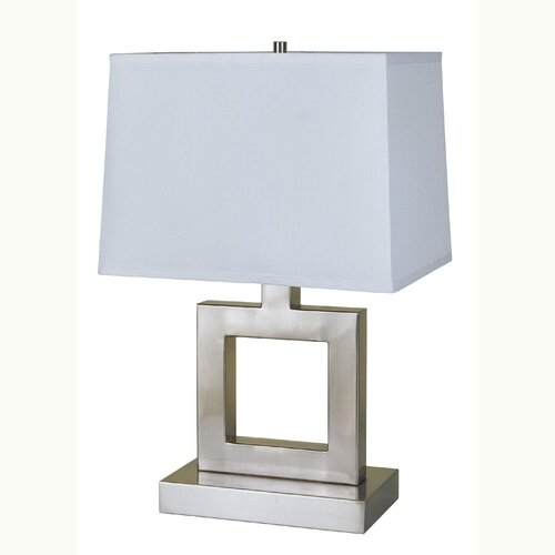 "ORE Furniture Square Base 22"" H Table Lamp"