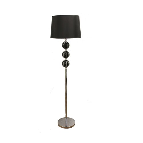 ORE Furniture Stacked Ceramic Floor Lamp