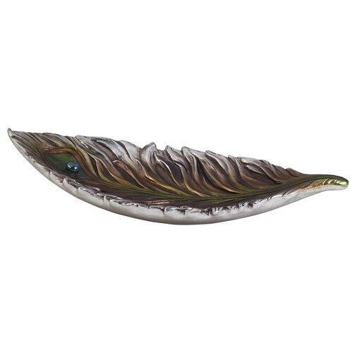 ORE Furniture Peacock Decorative Bowl