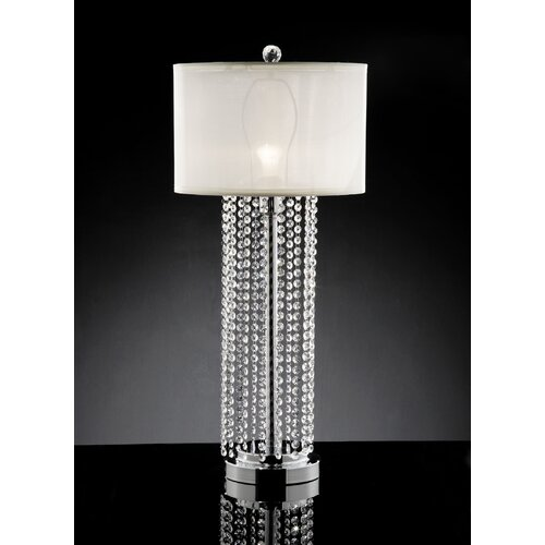 "ORE Furniture Simple Elegance 29.75"" H Table Lamp with Drum Shade"