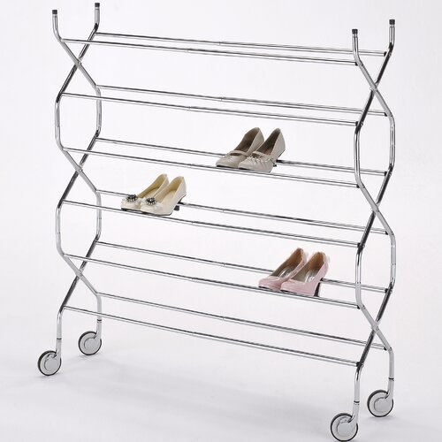 Criss Cross 6 Tier Shoe Rack