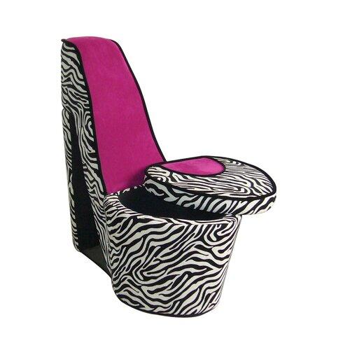 High Heels Storage Side Chair