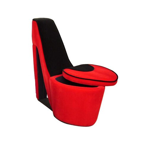 ORE Furniture High Heel Storage Side Chair