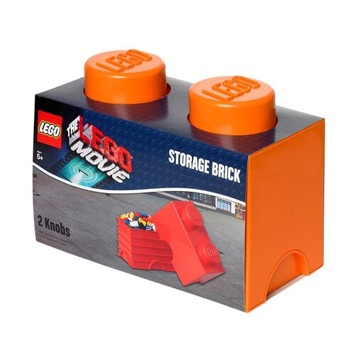 Movie Storage Brick 2 Toy Box