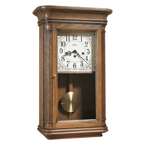 Chiming Key-Wound Sandringham Wall Clock