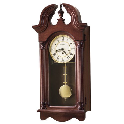 Chiming Key-Wound David Wall Clock