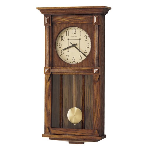 Howard Miller® Chiming Quartz Ashbee II Wall Clock