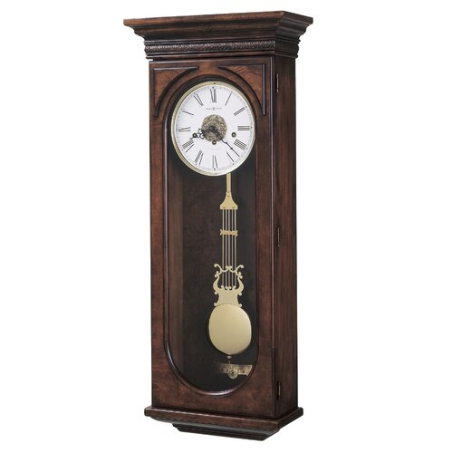 Chiming Key-Wound Earnest Wall Clock