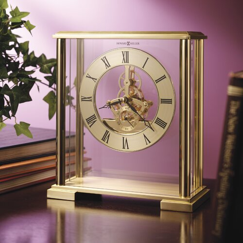Fairview Quartz Table Clock