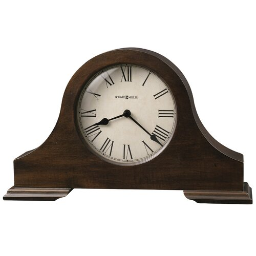 Howard Miller® Humphrey Mantel Clock in Hampton Cherry
