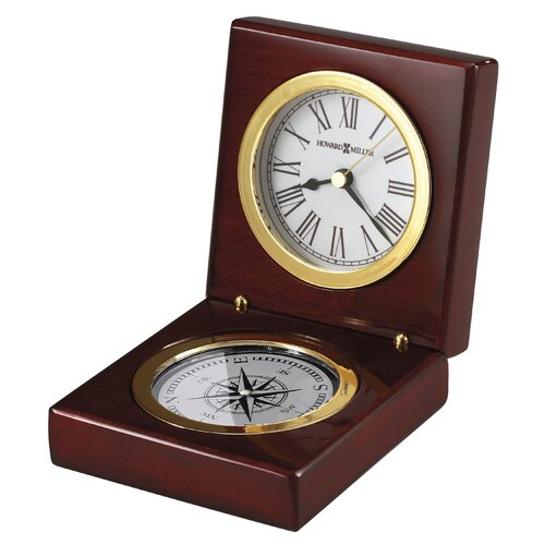 Howard Miller® Pursuit Table Clock
