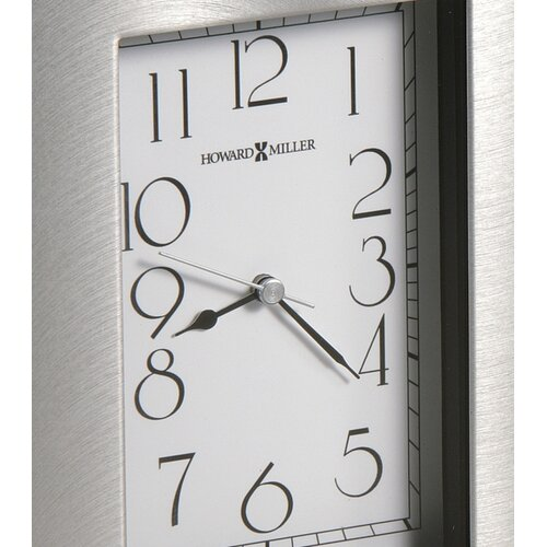 Howard Miller® Lewiston Tabletop Clock with Picture Frame