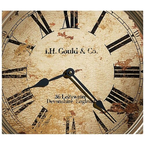 "Howard Miller® Moment In Time J.H. Gould and Co. III 15"" Wall Clock"