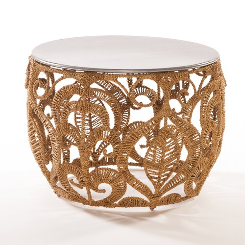 Jo-Liza International Corp. Rope Lace End Table