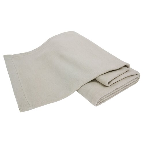 Bondi All-Natural 100% Brushed Cotton Machine Washable Blanket
