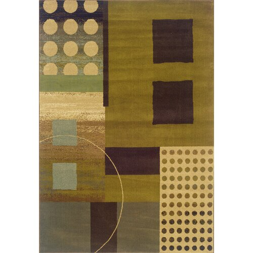 Stylehaven Harrison Green/Brown Rug