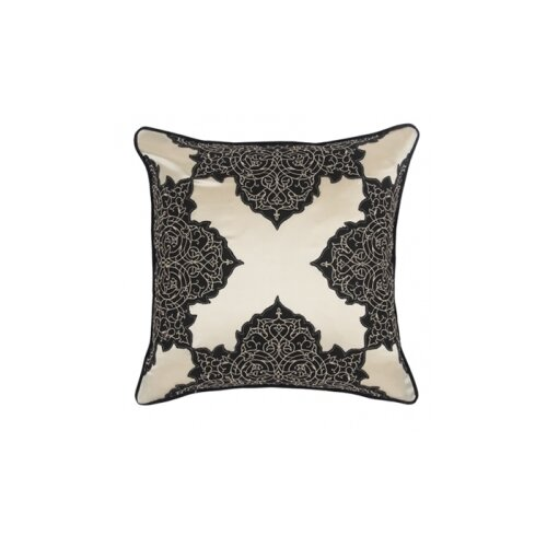 Blissliving Home Abu Dhabi Henna Silk / Linen Pillow