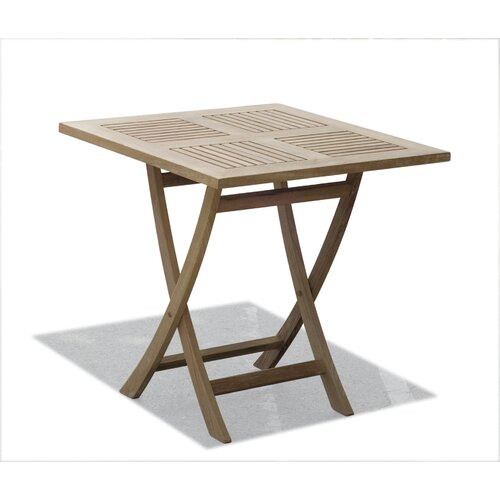 Leblon Outdoor Design Raffles 75cm Square Folding Table
