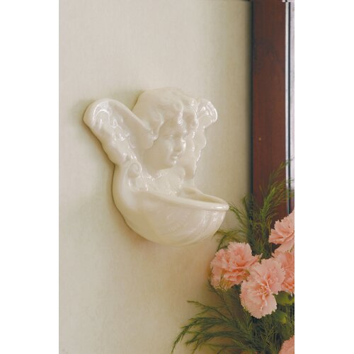 Belleek Cherbub Porcelain Water Font Fountain