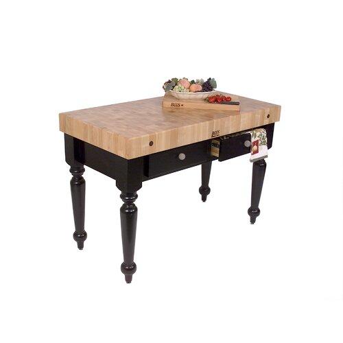 American Heritage Rustica Butcher Block Table