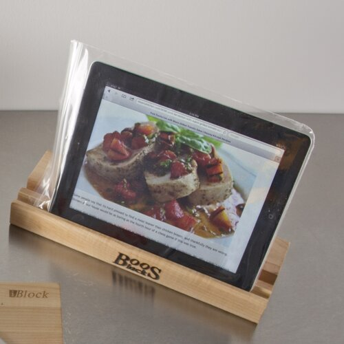 Gift I Block Cutting Board with Stand