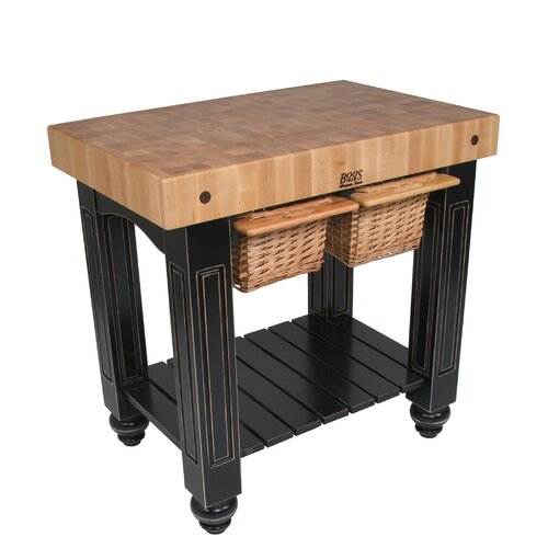 John Boos American Heritage Kitchen Island with Butcher  : John Boos American Heritage Kitchen Island with Butcher Block Top CU GB3624 XX from wayfair.com size 500 x 500 jpeg 44kB