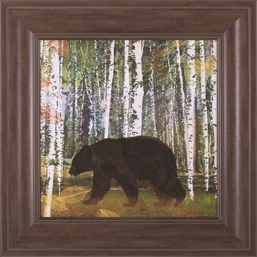 Bear by Lynnea Washburn Framed Painting Print