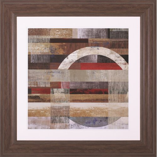 Industrial I by Tom Reeves Framed Graphic Art