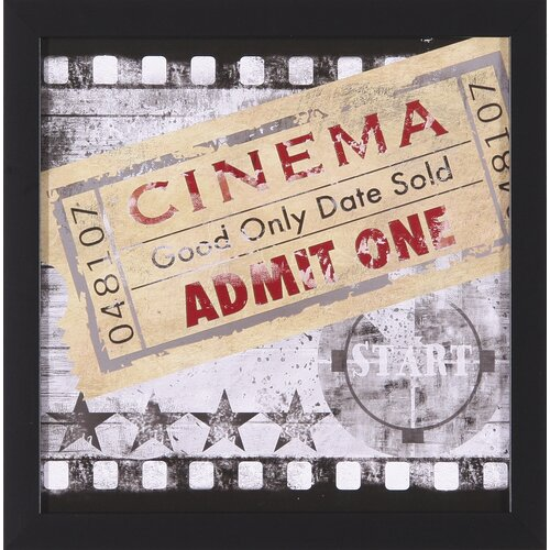 Cinema by Conrad Knutsen Framed Graphic Art